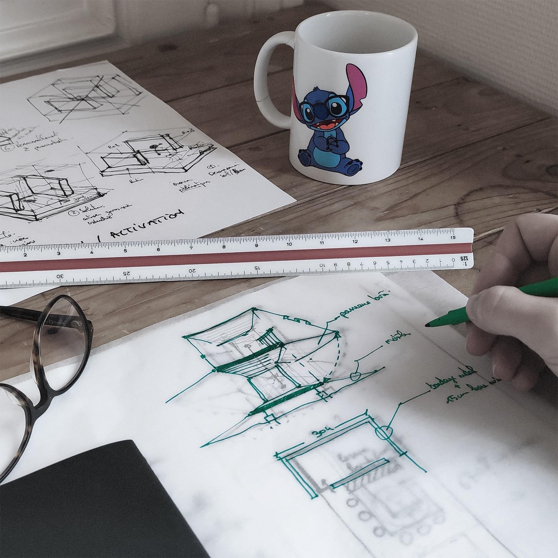 Accompagnement tertiaire par Stitch architecture