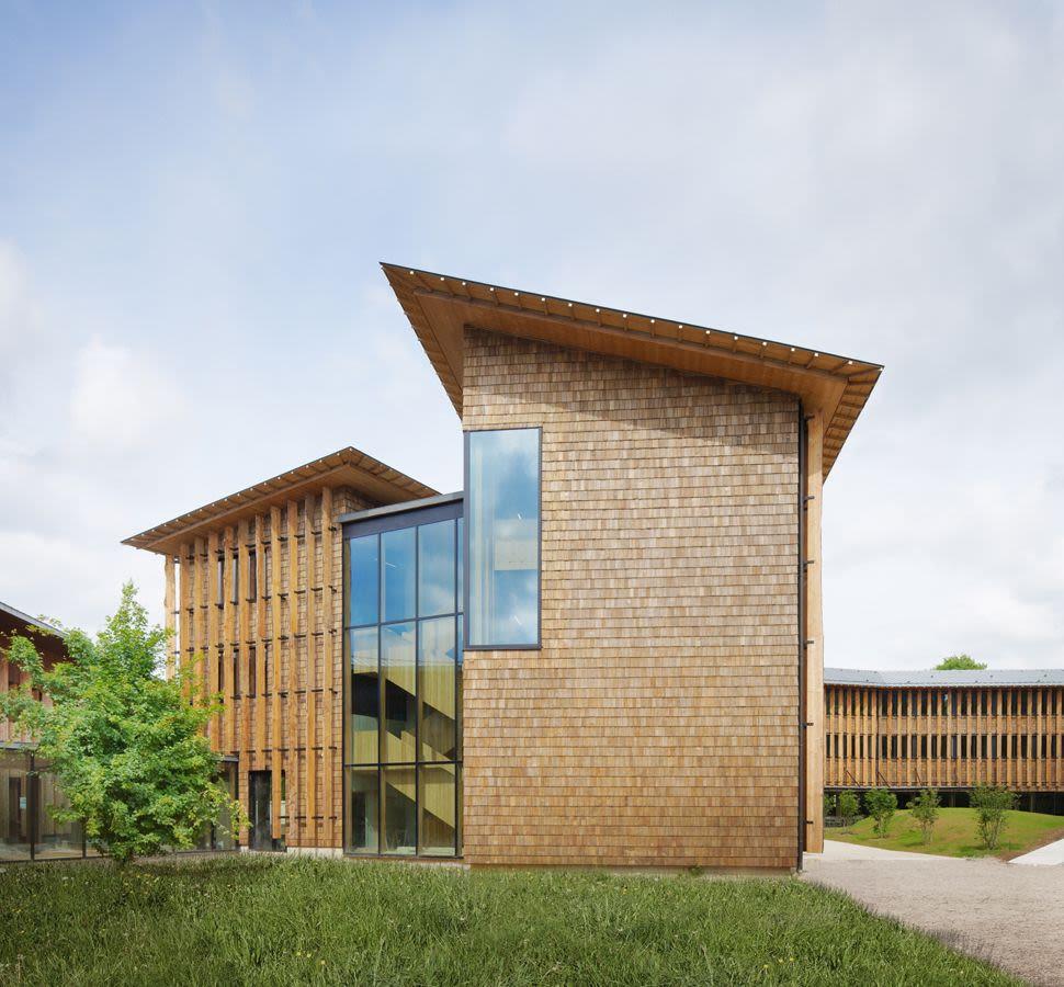 Architecture tertiaire Woody santé publique france woody