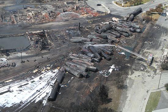 Recherche-Lac Mégantic-Catastrophe-post urgence-Photographie-catastrophe 7 juillet