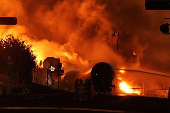 Recherche-Lac Mégantic-Catastrophe-post urgence-Photographie-catastrophe incendie