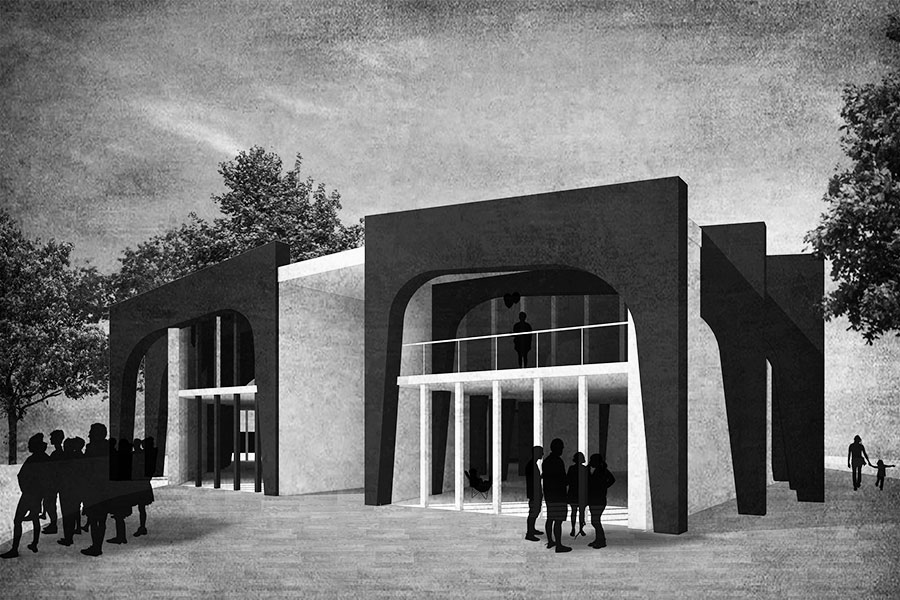 Urbanisme-Vaulx en velin-Maison des projets-Perspective