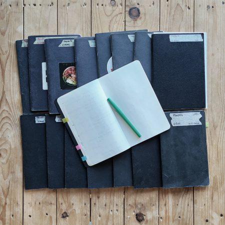 Mes carnets de notes d'architecte