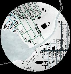 Recherche-Lac Mégantic-Catastrophe-post urgence-Diagramme trame bâti